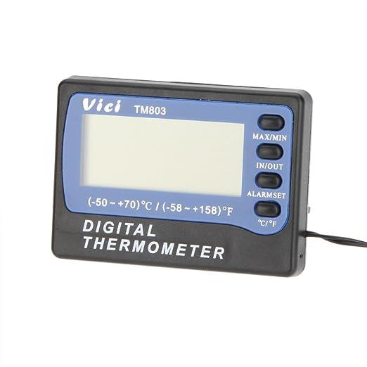 Vici VICHY TM803 LCD Nevera / Termómetro Del Congelador Medidor De ...