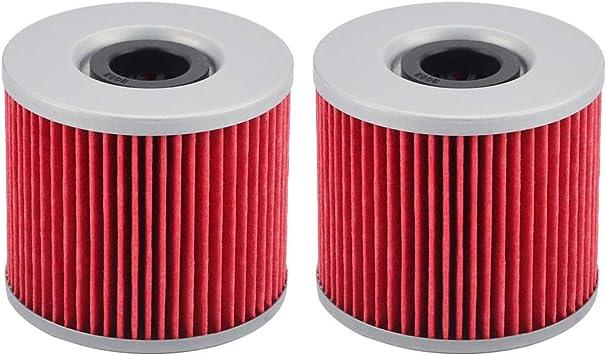 Hiflofiltro HF133-2 2 Pack Premium Oil Filter 2 Pack