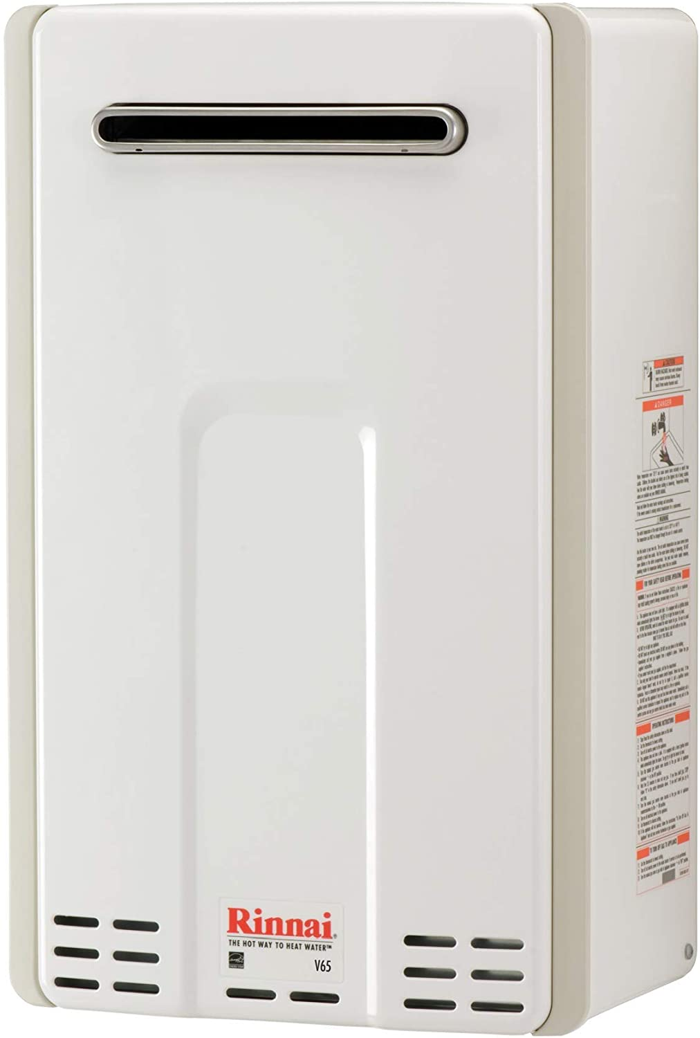 Rinnai V65EP Tankless Water Heater, Large, V65eP-Propane/6.5 GPM - -