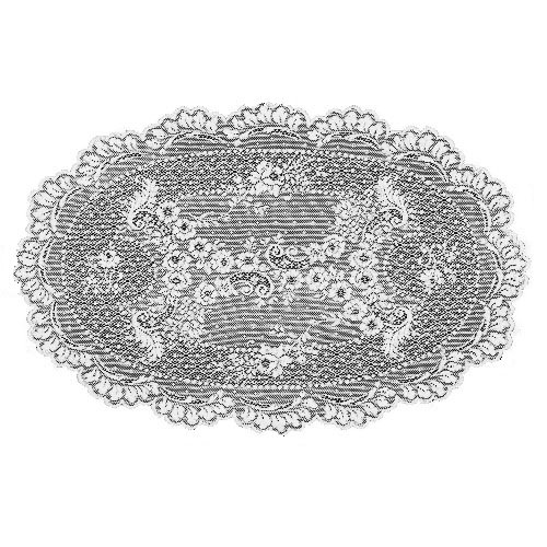 (Heritage Lace Floret 14-Inch by 20-Inch Placemat, Ecru, Set of 2)
