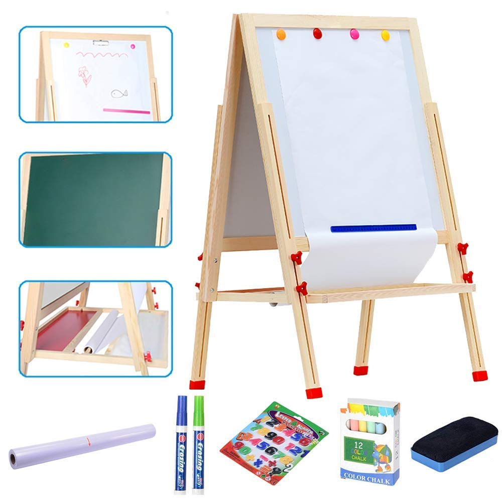 How to just make an easel child folding with your own hands