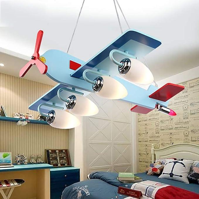 Mode De L'avion Lustre Zssm Des Enfants Chambre Exquis eWIYH9bED2