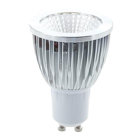 SODIAL(R) Bombilla Lmpara Luz Blanco Calido GU10 LED COB 5W Bajo Consumo Foco