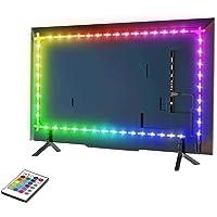 Led-tv-achtergrondverlichting, 6,56 voet led-lichtbalk voor 32-60 inch televisie, monitor smart-TV-muurbeugel werkgebied…