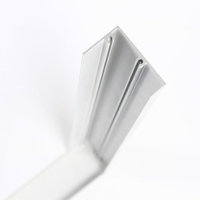 Panel LED Marco 30 x 30 cm, marco en Color Blanco para panel ...