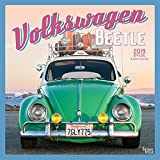 Volkswagen Beetle 2019 12 x 12 Inch Monthly Square Wall Calendar, German Motor Car (Multilingual Edition)