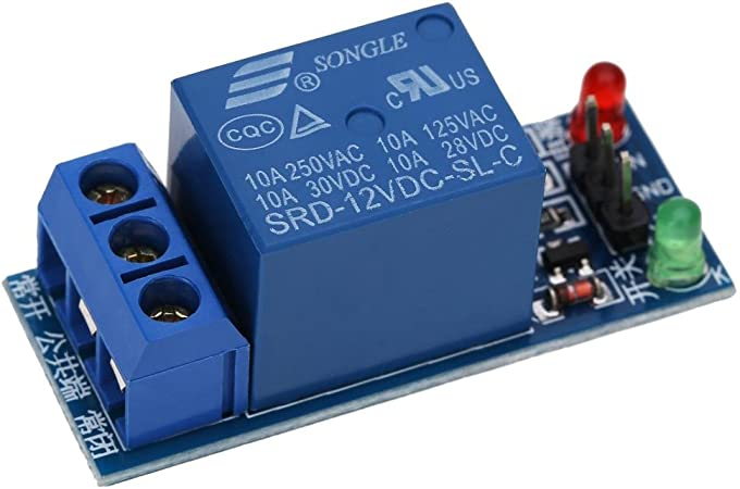 Broadroot 12 V One 1 Channel Relay Module Carte Opto/électronique pour PIC AVR DSP ARM