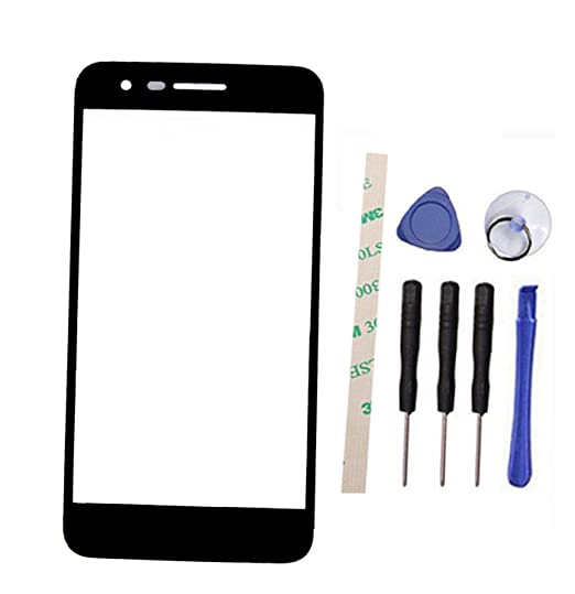 Draxlgon Outer Screen Front Glass Lens Replacement for LG Aristo 2 LM-X210  K8 2018 SP200 Rebel 3 L158C L158VL L157BL 5