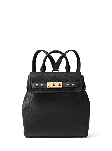 8ce229dec9 MICHAEL Michael Kors Addison Small Pebbled Leather Backpack in Black ...