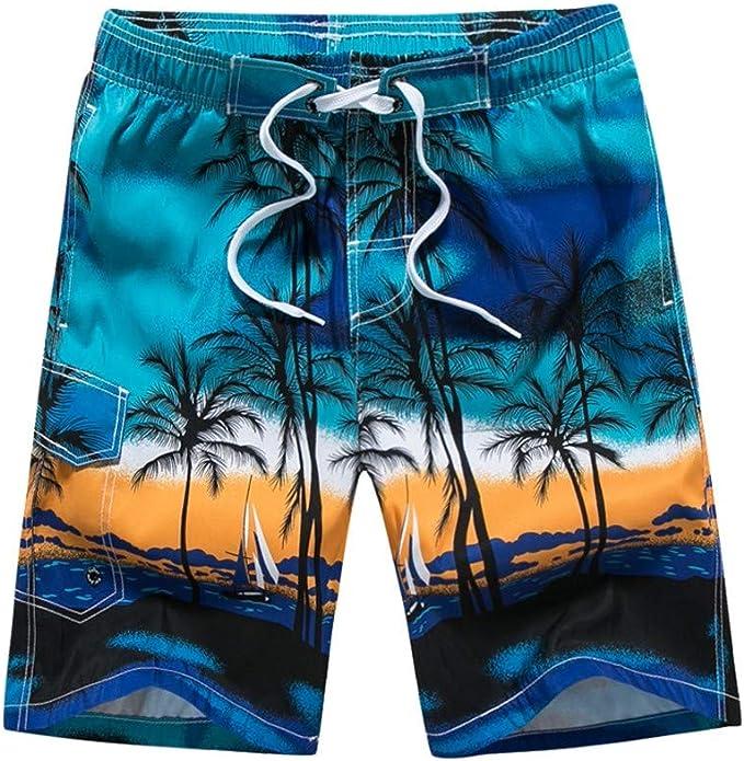 Mens Fashion Love Hawaii Beach Jogger Sweatpant Workout Gym Shorts