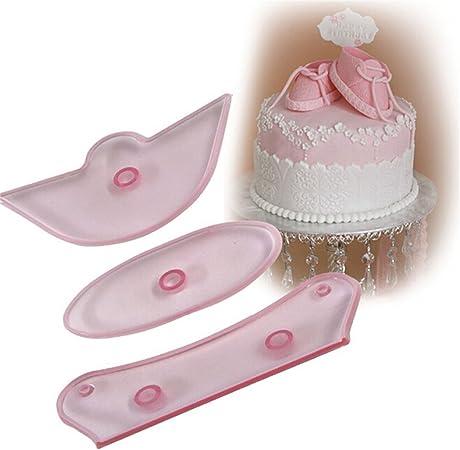 3D Enfants Chaussure De Silicone Fondant Moule Gâteau Décoration chocolat cuisson moule