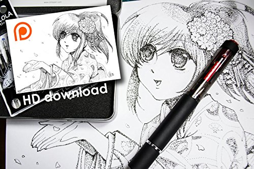 Cuttlelola Dotspen World's First Electric Drawing Pen for Illustration,stippling,manga by Cuttlelola (Image #3)