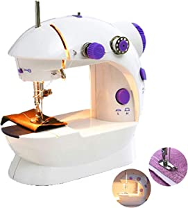 Mini Sewing Machine   AOGVNA Sewing Machine for Beginners, Kids Sewing Machine Easy to Learn Portable Sewing Machine for Home Crafting & DIY Project