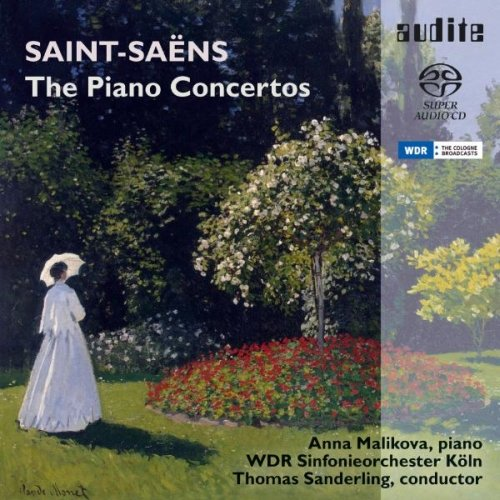 SAINT-SAENS / MALIKOVA / SANDERLING / WDR SO