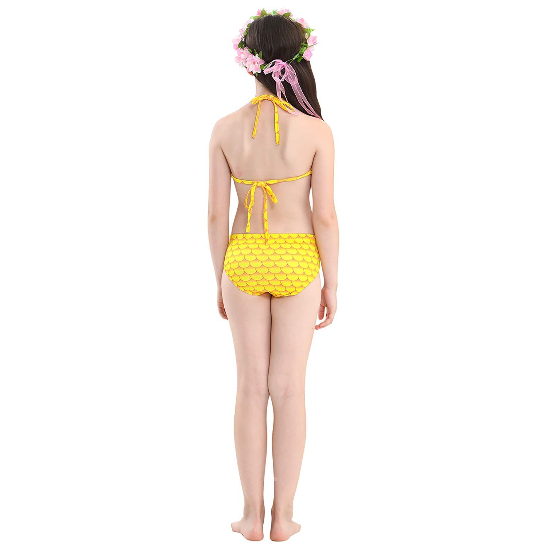WaterLife Meerjungfrau Flosse Zum Schwimmen Flossen Für Mädchen Mädchen Mädchen Kinder Mit Bikini B07GRCDSGT Bademode Markenschmaus ee9ffa