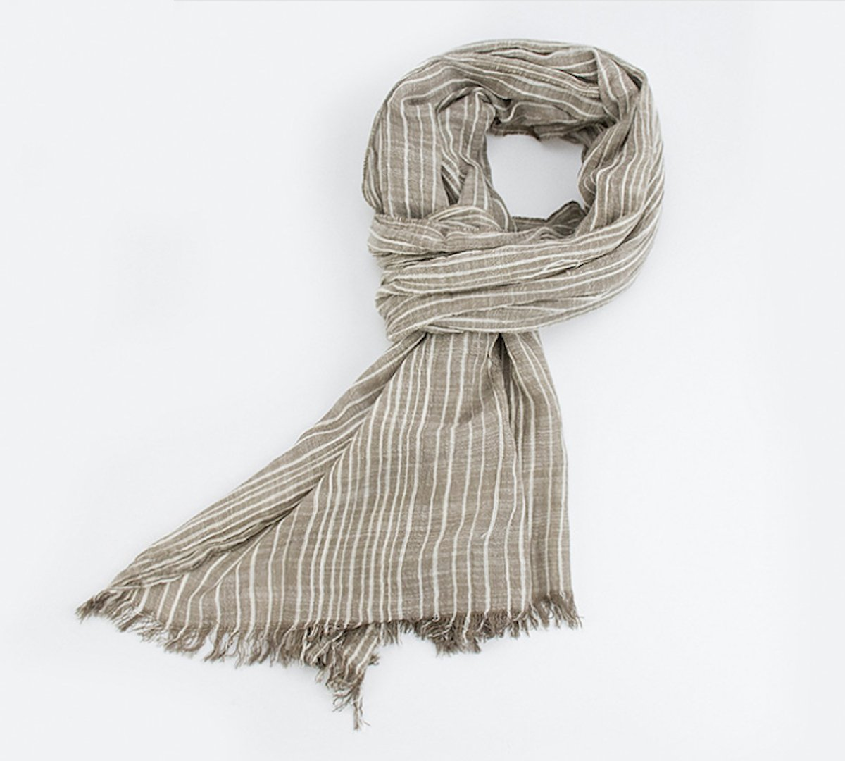 Cotton Scarf Shawl Wrap Soft Lightweight Scarves And Wraps For Men And Women. (Beige cream) by Jeelow (Image #6)