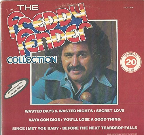 Freddy Fender: The Collection LP VG++/NM Canada Juke Box TVLP 77025
