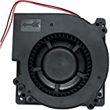 UTUO Brushless Radial Blower Sleeve Bearing Low Noise 12V DC Centrifugal Fan with XH-2.5 Plug 120mm by 120mm by 32mm