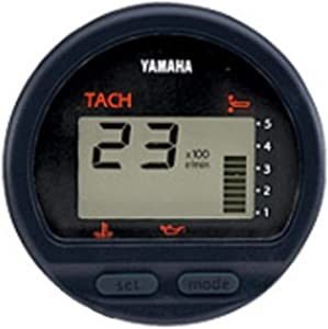 Digital Marine Outboard Boat Tachometer [Yamaha] Picture