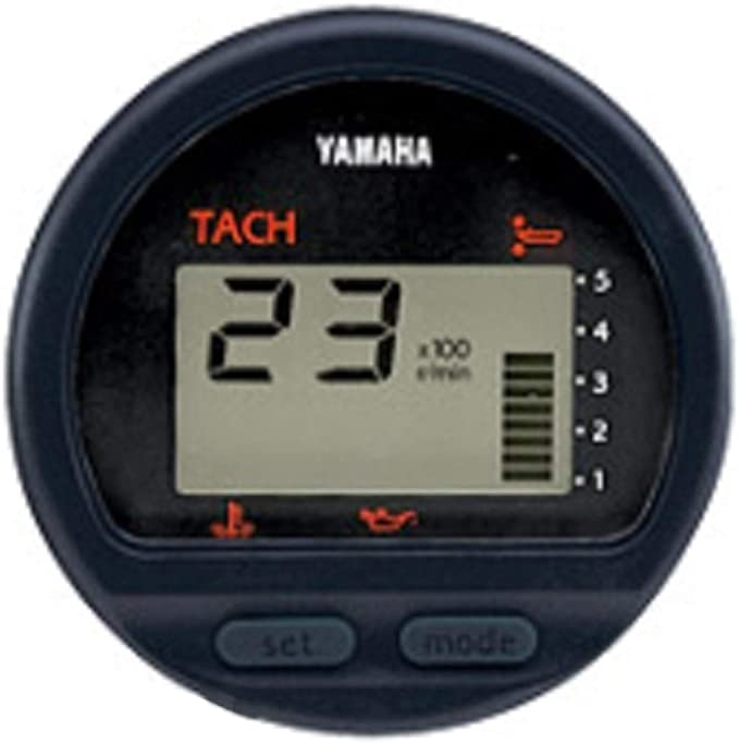 yamaha outboard oem multi function gauge tach tachometer 6y5 8350t 83 00 chrysler 55 hp outboard wiring diagram 115 hp yamaha outboard tach wiring diagram #12