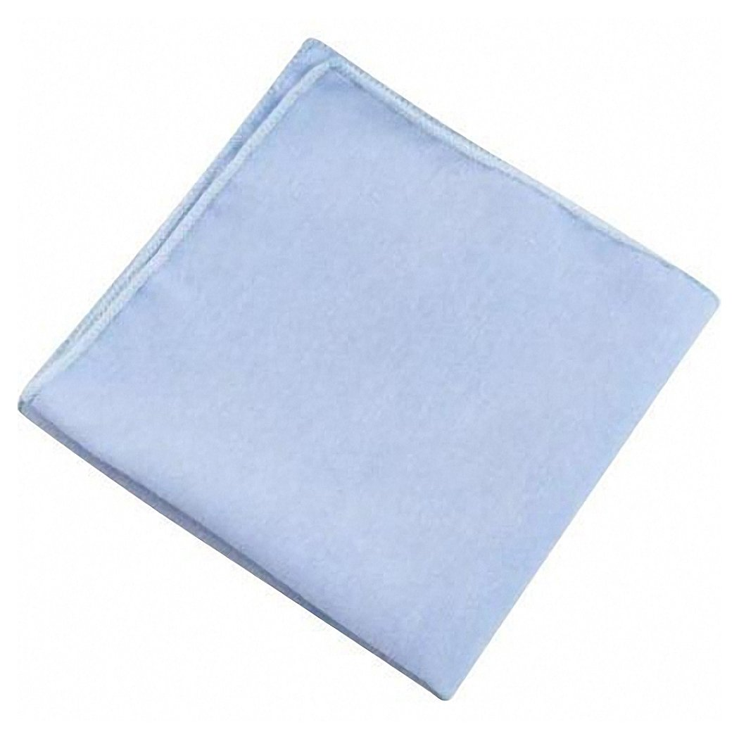 Pale Blue Cotton Pocket Square