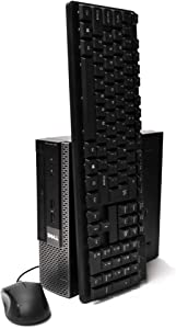 Dell Optiplex 7010 Ultra Small Desktop PC, Intel Quad Core i5 Processor, 16GB RAM, 512GB Solid State Drive, Windows 10 Professional, DVD, HDMI, Bluetooth, Keyboard, Mouse, WiFi (Renewed)