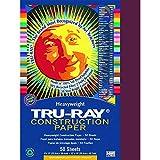 PACON CORPORATION TRU RAY 9 X 12 BURGUNDY 50 SHT (Set of 24)