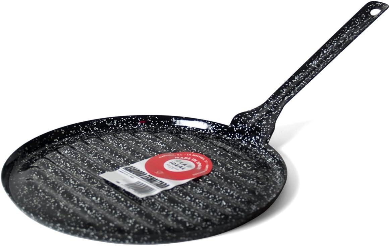 Garcima Asadora, Acero, Negro, 26 cm: Amazon.es: Hogar