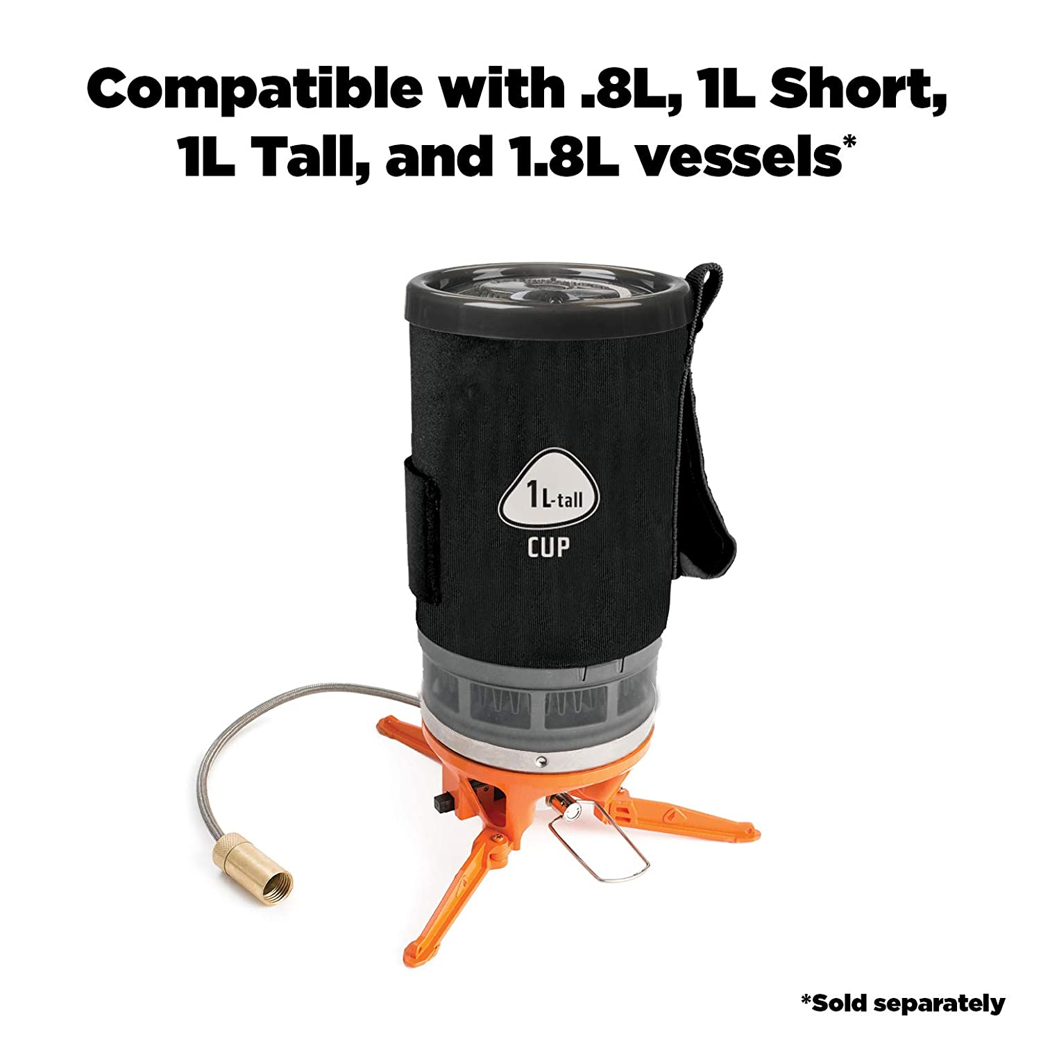 Jetboil Luna Satellite Side Burner for Jetboil or Eureka Camping Stoves