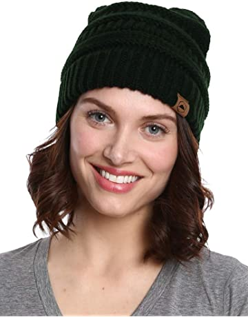 Tough Headwear Cable Knit Beanie - Thick 091cd91eab63