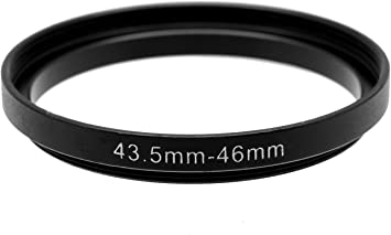 uxcell Camera Repalacement 37mm-46mm Metal Step Up Filter Ring Adapter