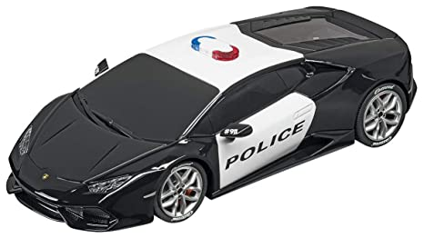 Amazon Com Carrera Usa 20030854 Lamborghini Huracan Police Car 1 32