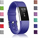 Soulen for Fitbit Charge 2 Bands, Replacement Band for Fitbit Charge 2 Classic & Special Edition, 12 Colors