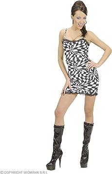 WIDMANN Disfraz vestido años 70 discoteca| talla L: Amazon.es ...