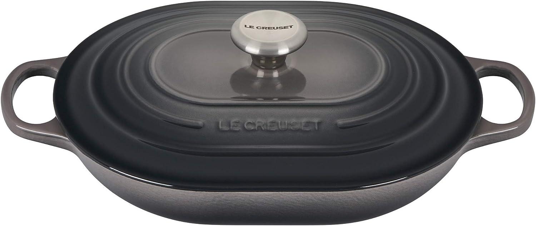 Le Creuset Enameled Caset Iron Dutch Oven, 3.75 qt, Oyster