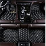 Gallop All Weather Protection Waterproof 3 Piece Full Set Floor Mats Leather Floor Liners Custom Fit Floor Carpets for Audi Q5 2010-2017(Black)