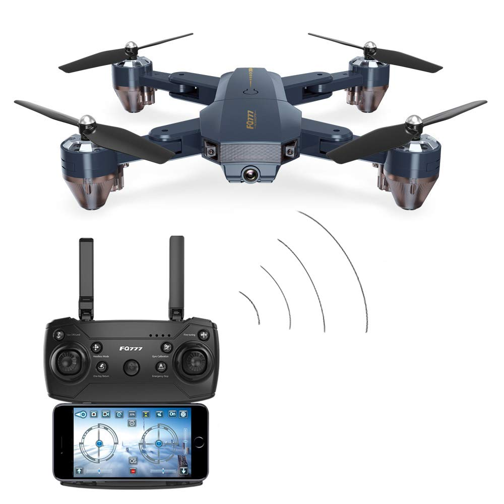 ZIHENGUO FQ35 Portable Drohne Fernbedienung Flugzeug Mit WiFi Kamera Drohne Video Mobile APP Control 6-Achsen Headless Modus Höhe Retention