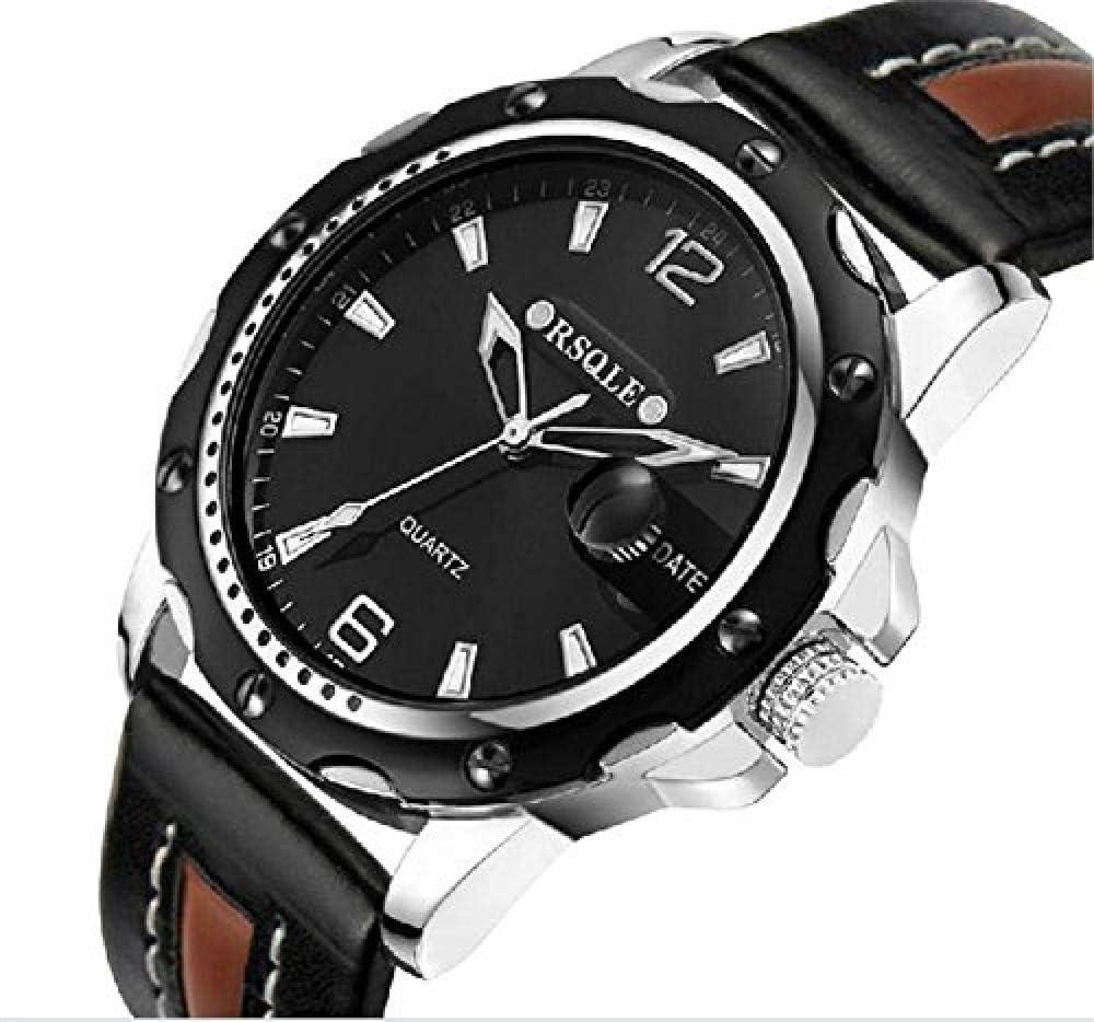 A literary youth Relojes Hombre Elegantes, Men S Strap Waterproof Quartz Watches @ 1