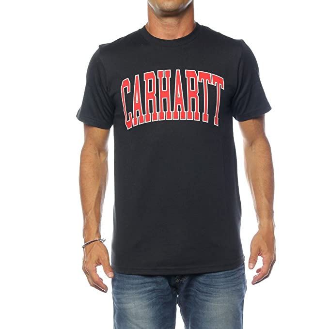 Carhartt Camiseta WIP S/S Division T-Shirt para Hombre: Amazon.es ...