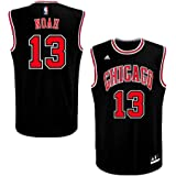 62c73fb78 adidas Chicago Bulls Youth Joakim Noah Alternate Replica Jersey - Black  13