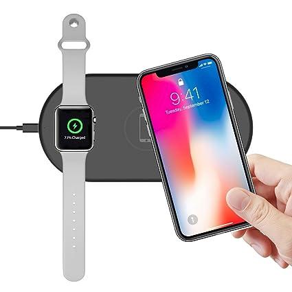 Amazon.com: Inalámbrico Apple reloj soporte de carga iPhone ...