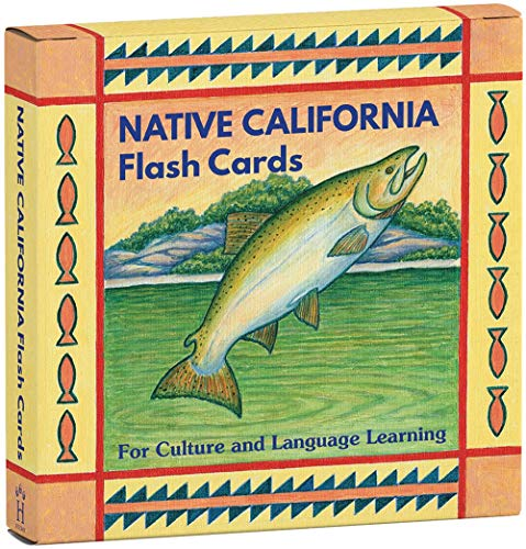 Native California Flash Cards: For Culture and Language Learning
