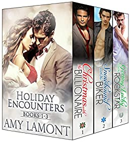 Holiday Encounters Books 1-3 (The Holiday Encounters Series Box Set) by [Lamont, Amy]