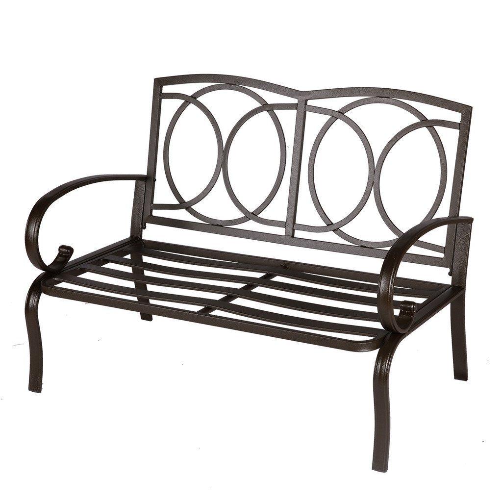 Amazon Com Cloud Mountain Pc Outdoor Loveseat Furniture Bistro