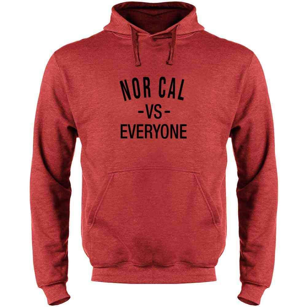Norcal vs Everyone San Francisco Oakland Mens Fleece Hoodie Sweatshirt