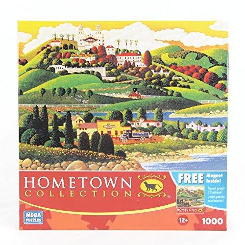 HOMETOWN COLLECTION Castle Drive 1000 Piece Puzzle