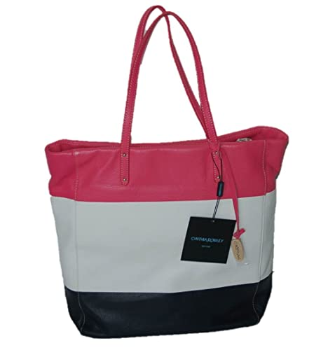 9ad6cdc71b Image Unavailable. Image not available for. Color  Women s Cynthia Rowley  Large Leather Shoulder Bag Tote ...