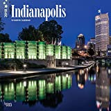 Indianapolis 2018 12 x 12 Inch Monthly Square Wall Calendar, USA United States of America Indiana Midwest City