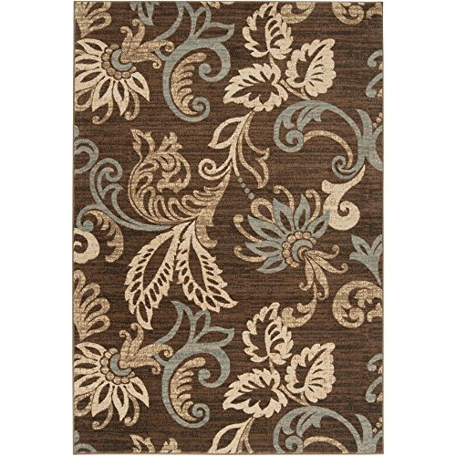 Deacon Coffee Bean Transitional Area Rug 2′ x 3'3″ Review
