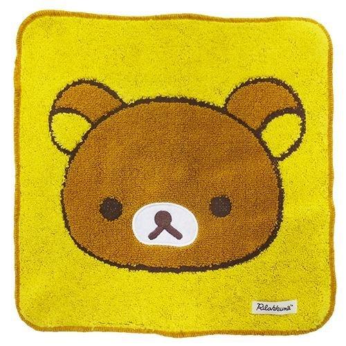 Marushin Rilakkuma Handkerchief Jacquard Towel